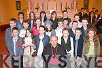 Kilgobnet National School pupils who were confirmed by Bishop Bill Murphy in St Marys Church, Beaufort, last Thursday..