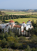 CYPRUS, monastery of Metamorphosis  between Nicosia and Larnaca<br />