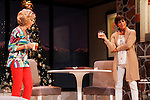 """As The World Turns' Colleen Zenk stars along with the cast - Peggy J. Scott in """"Other Desert Cities"""" at the tech rehearsal (in costume) on October 14, 2015 at Whippoorwill Halll Theatre, North Castle Library, Kent Place, Armonk, New York.  (Photo by Sue Coflin/Max Photos)"""