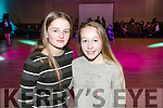 Grace O'Connor and Kate Kerins, enjoying the Kerins O'Rahillys Strictly Come Dancing, held at the Brandon Hotel, Tralee on Saturday night last.