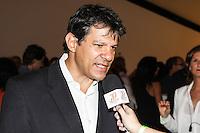 SÃO PAULO,SP, 21.10.2015 - FESTIVAL-CINEMA - Fernado Haddad (PT) prefeito de São Paulo durante abertura da 39ª mostra internacional de cinema de São Paulo,  na região sul da capital paulista nesta quarta-feira, 21. (Foto: Marcos Moraes/Brazil Photo Press)