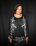 De'adre Aziza attending the Meet & Greet for the New York Theatre Workshop production of 'A Civil War Christmas' at their rehearsal studios on October 16, 2012 in New York City.