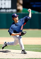 Scott Lewis  -  Cleveland Indians - 2009 spring training.Photo by:  Bill Mitchell/Four Seam Images