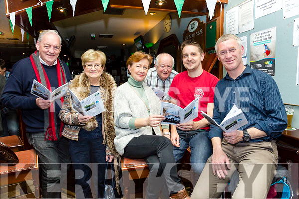 At the Na Gaeil Club Race Night fundraiser on Saturday were Karl Bulman Mary Maunsell, Sheila Bulman  Sean O'Connor Brian O'Shea, Denis Sugrue
