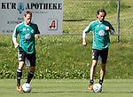 19.07.2011, Bad Kleinkirchheim, AUT, Fussball Trainingscamp VFL Wolfsburg, im Bild Jan Polak und Tuncay Sanli, EXPA Pictures © 2011, PhotoCredit: EXPA/Oskar Hoeher