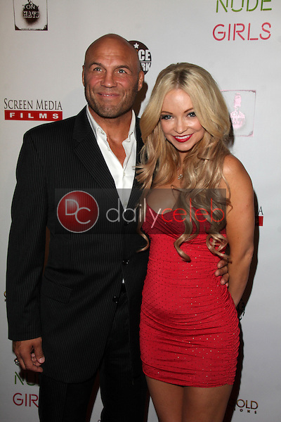 Randy Couture, Mindy Robinson<br />