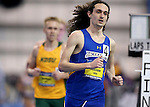 BROOKINGS, SD - FEBRUARY 25:  Joel Reichow from South Dakota State University wins the men's 5,000 meter run at the 2017 Summit League Indoor Track and Field Championship Saturday afternoon in Brookings, SD. (Photo by Dave Eggen/Inertia)