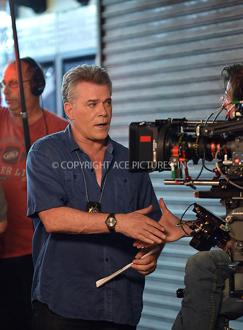 WWW.ACEPIXS.COM<br /> <br /> June 11 2015, New York City<br /> <br /> Ray Liotta on the Brooklyn set of the new TV show 'Shades of Blue' on June 11 2015 in New York City<br /> <br /> By Line: Curtis Means/ACE Pictures<br /> <br /> <br /> ACE Pictures, Inc.<br /> tel: 646 769 0430<br /> Email: info@acepixs.com<br /> www.acepixs.com