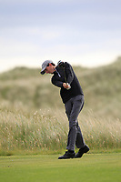 Tiernan McLarnon (Massereene) on the 9th tee during Round 4 of the East of Ireland Amateur Open Championship at Co. Louth Golf Club in Baltray on Monday 5th June 2017.<br /> Photo: Golffile / Thos Caffrey.<br /> <br /> All photo usage must carry mandatory copyright credit     (&copy; Golffile | Thos Caffrey)