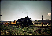 D&amp;RGW #483 K-36 - RMRRC excursion to Chama.<br /> D&amp;RGW  e. of Durango ?, CO  5/30/1966