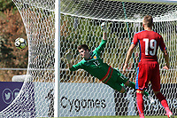 Ross Doohan of Celtic and Scotland makes a fine save during Czech Republic Under-20 vs Scotland Under-20, Toulon Tournament Football at Stade de Lattre-de-Tassigny on 10th June 2017
