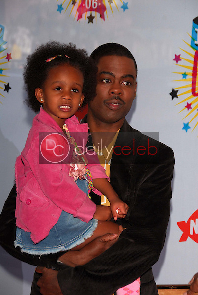 Chris Rock and family<br />