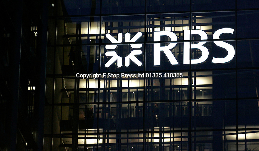 30/10/15  FILE PHOTO<br /> <br /> RBS profits fall to £2million.