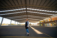 Facility manager Celia Newton at the Columbo Road Sports Centre in Masterton, New Zealand on Thursday, 9 August 2018. Photo: Dave Lintott / lintottphoto.co.nz