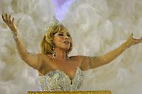 RIO DE JANEIRO, RJ, 21 DE FEVEREIRO DE 2012 - Desfiles das Escolas de Samba do Grupo Especial -  A atriz Arlete Sales, durante o desfile da escola de samba Grande Rio  na Marquês de Sapucaí. FOTO GLAICON EMRICH - AGÊNCIA BRAZIL PHOTO PRES