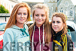 Bar-B -Que: Pictured at the John Griffin sponsored bar-b-que at Christy's Bar, Listowel in aid of Pieta House  on Saturday evening last were Eva Flynn, Lauren Breen & Saoirse Galvin.