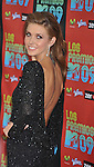 UNIVERSAL CITY, CA. - October 15: Audrina Patridge attends Los Premios MTV 2009 Latin America Awards held at the Gibson Amphitheatre on October 15, 2009 in Universal City, California.