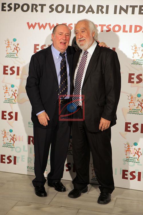 XIe Sopar Solidari d'ESI (Esport Solidari Internacional).<br /> Josep Maldonado &amp; Josep M. Gay de Liebana.