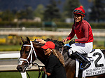 MAR 07: River Boyne with Abel Cedillo wins the Kilroe Mile at Santa Anita Park in Arcadia, California on March 7, 2020. Evers/Eclipse Sportswire/CSM