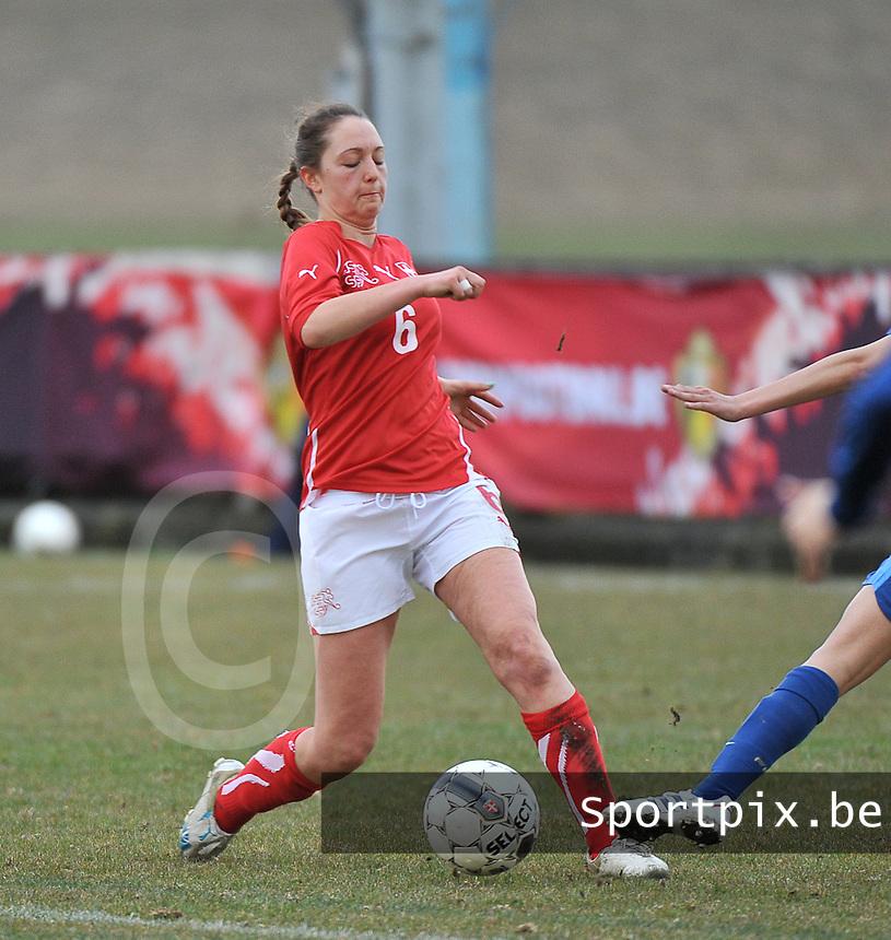 Switzerland U19 - France U19 : Livia Egert.foto DAVID CATRY / Nikonpro.be