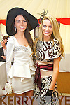 Michelle and Karen O'Leary at Listowel Races Ladies Day on Sunday.