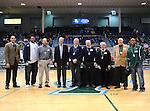Former members of Tulane men's basketball return to Fogelman Arena for Alumni Basketball night.