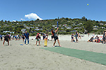 NELSON, NEW ZEALAND January 6: Beach Cricket with the Blackcaps, Tahuna Beach, Nelson, New Zealand. Sunday 6 January 2019 (Photos by: Barry Whitnall Photography