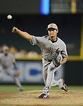 Yu Darvish (Rangers), MAY 27, 2013 - MLB : MLB game between the Arizona Diamondbacks and the Texas Rangers in Phoenix, Arizona, United States. (Photo by AFLO)
