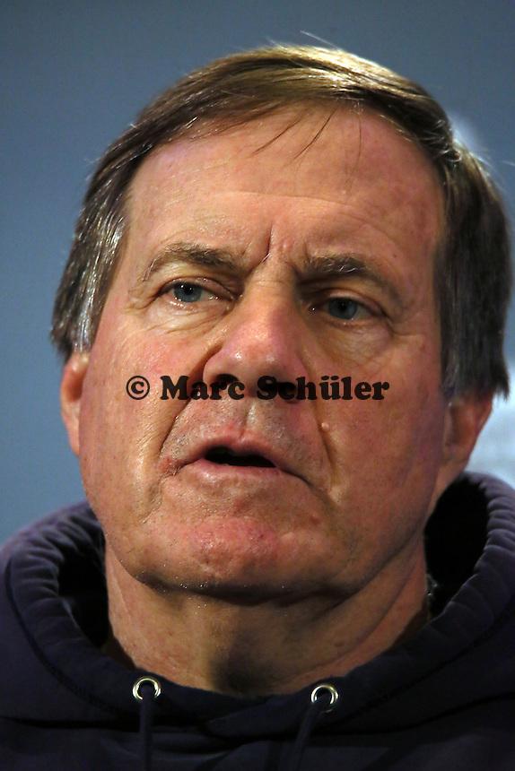 Head Coach Bill Belichick (Patriots) - Super Bowl XLIX New England Patriots Team-PK, Sheraton Arizona Grand Hotel