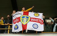 Leeds fans<br /> <br /> Photographer Rob Newell/CameraSport<br /> <br /> The EFL Sky Bet Championship - Millwall v Leeds United - Saturday 5th October 2019 - The Den - London<br /> <br /> World Copyright © 2019 CameraSport. All rights reserved. 43 Linden Ave. Countesthorpe. Leicester. England. LE8 5PG - Tel: +44 (0) 116 277 4147 - admin@camerasport.com - www.camerasport.com