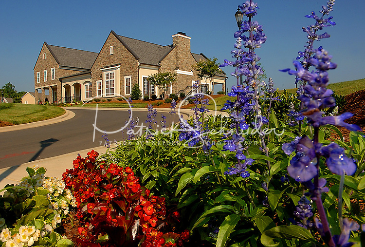 Berewick master-planned community in southwest Mecklenburg County, Charlotte, NC. The property is developed by Pappas Properties.