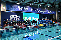 Italy and Nederland Team presentation <br /> Firenze 19-11-2019 Piscina Nannini <br /> water polo Women's World League <br /> Italy ITA - Nederland NED <br /> Photo Andrea Staccioli/Deepbluemedia/Insidefoto