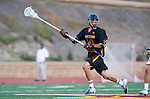 San Diego, CA 05/25/13 - Peter Hollen (Torrey Pines #11) in action during the 2013 CIF San Diego Section Open DIvision Boys Lacrosse Championship game.  Torrey Pines defeated La Costa Canyon 7-5.