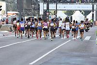 SÃO PAULO,  SP, 31.12.2018 - SÃO-SILVESTRE - Maratonistas durante a Corrida Internacional de São Silvestre na Avenida Paulista em São Paulo nesta segunda-feira, 31.(Foto: Nelson Gariba/Brazil Photo Press)