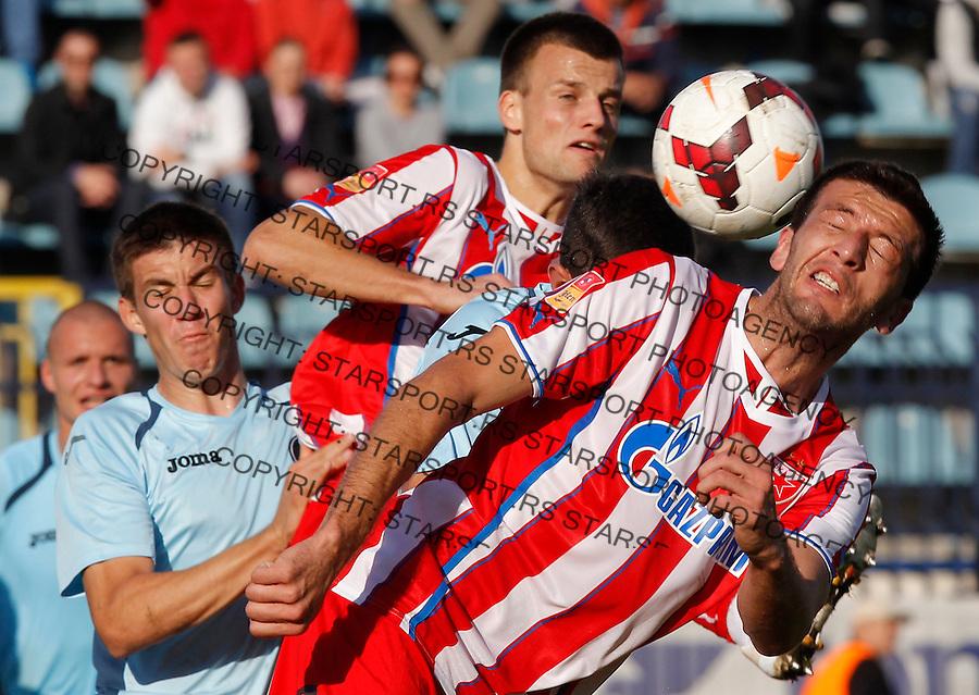Fudbal Super liga season 2013-2014<br /> Rad v Crvena Zvezda<br /> Marko Miric (R)<br /> Beograd, 10.11.2013.<br /> foto: Srdjan Stevanovic/Starsportphoto &copy;