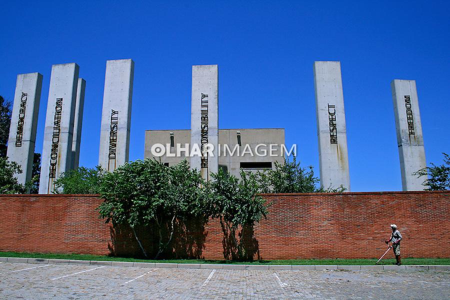 Museu do Apartheid. Soweto. África do Sul. 2007. Foto de Flãvio Bacellar.