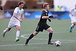 SALEM, VA - DECEMBER 3: David Waterson (17) of Calvin College moves the ball up the fieldduring theDivision III Men's Soccer Championship held at Kerr Stadium on December 3, 2016 in Salem, Virginia. Tufts defeated Calvin 1-0 for the national title. (Photo by Kelsey Grant/NCAA Photos)