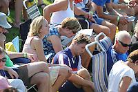 FIERLJEPPEN: VLIST: 22-08-2015, NK Fierljeppen/Polstokverspringen, Thewis Hobma eindigt dankzij een sprong van 20.10m als 2e, ©foto Martin de Jong