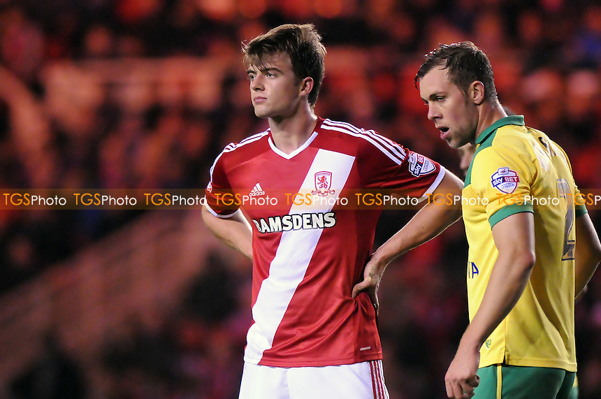 Patrick Bamford of Middlesbrough - Middlesbrough vs Norwich City - Sky Bet League Championship Football at the Riverside Stadium, Middlesbrough - 04/11/14 - MANDATORY CREDIT: Steven White/TGSPHOTO - Self billing applies where appropriate - contact@tgsphoto.co.uk - NO UNPAID USE