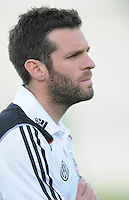 DC United head coach Ben Olsen.  The New England Revolution defeated DC United 3-2 in US Open Cup match , at the Maryland SoccerPlex, Tuesday  April 26, 2011.