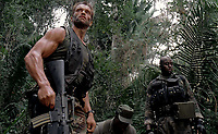 Predator (1987) <br /> Carl Weathers, Arnold Schwarzenegger &amp; Bill Duke<br /> *Filmstill - Editorial Use Only*<br /> CAP/KFS<br /> Image supplied by Capital Pictures