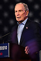 WEST PALM BEACH, FLORIDA - MARCH 03: Democratic presidential candidate former New York City mayor Mike Bloomberg speaks at his Super Tuesday night event at Palm Beach Convention Center on March 03, 2020 in West Palm Beach, Florida. 1,357 Democratic delegates are at stake as voters cast their ballots in 14 states and American Samoa on what is known as Super Tuesday.  ( Photo by Johnny Louis / jlnphotography.com )