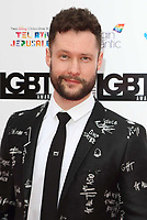 Calum Scott at the British LGBT Awards at the London Marriott Hotel Grosvenor Square, Grosvenor Square, London on Friday 11 May 2018<br /> CAP/ROS<br /> &copy;ROS/Capital Pictures