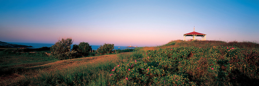 A June morning on Star Island, Isles of Shoals, off Portsmouth, New Hampshire. Photograph by Peter E. Randall.
