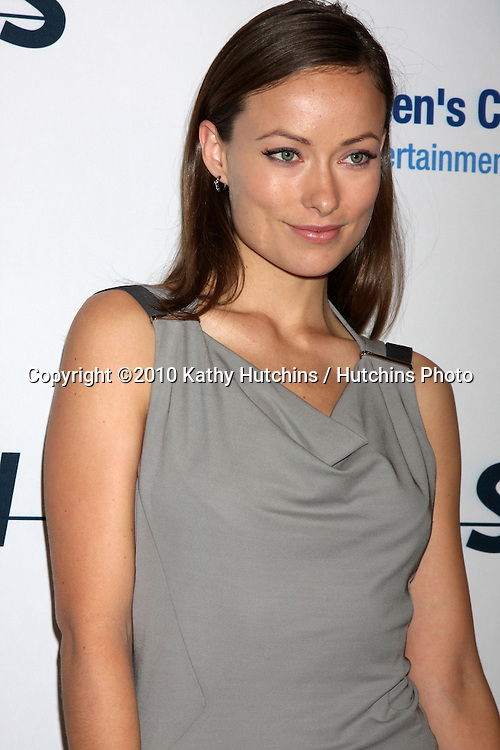 "Olivia WIlde.arriving at ""An Unforgetable Evening"" benefiting EIF's Women's Cancer Research Fund 2010.Beverly Wilshire Hotel.Beverly Hills, CA.January 27, 2010.©2010 Kathy Hutchins / Hutchins Photo...."