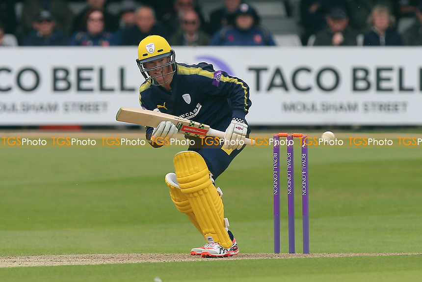 George Bailey in batting action for Hampshire during Essex Eagles vs Hampshire, Royal London One-Day Cup Cricket at The Cloudfm County Ground on 30th April 2017