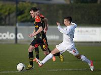 2014.03.14 U16 Belgium - Serbia