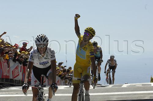 2009, Tour de France, tappa 20 Montelimar - Mont Ventoux, Saxo Bank, Astana, Schleck Andy, Contador Alberto, Le Mont Ventoux 24th July 2009 Stage 20 Montelimar to Mont Ventoux (Photo: Stefano Sirotti/ActionPlus)