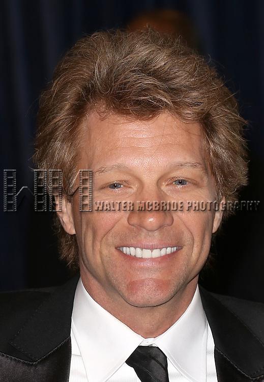 Jon Bon Jovi attending the  2013 White House Correspondents' Association Dinner at the Washington Hilton Hotel in Washington, DC on 4/27/2013