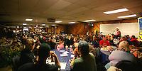 Red Lantern Banquet held at the Race Headquarters in Nome was filled to capacity, seats sold quickly and those too slow were turned away at the door.
